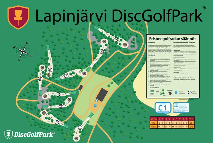 Lapinjärvi frisbeegolf